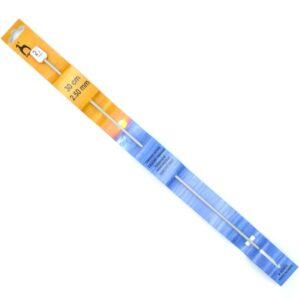 Крючок для тунисского вязания 2.5 мм 30 см Pony 43603 металлический с тефлоновым покрытием