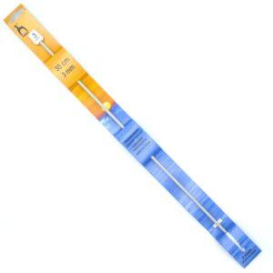 Крючок для тунисского вязания 3 мм 30 см Pony 43605 металлический с тефлоновым покрытием