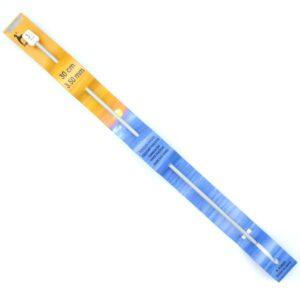 Крючок для тунисского вязания 3.5 мм 30 см Pony 43607 металлический с тефлоновым покрытием