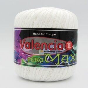 Пряжа Valencia Euro Maxi 001 белый