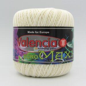 Пряжа Valencia Euro Maxi 101 молочный