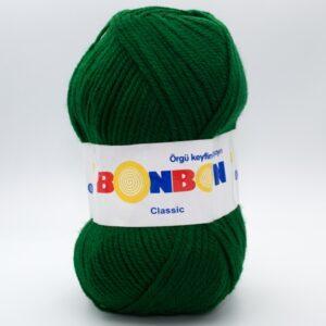 Пряжа Nako Bonbon Classic 98596 зеленый