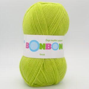 Пряжа Nako Bonbon Ince салатовый 98228