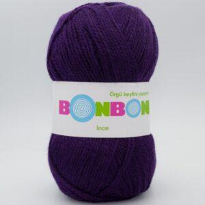 Пряжа Nako Bonbon Ince 98232 фиолетовый