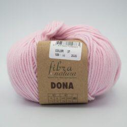 Пряжа Fibranatura Dona 106-10 светло-розовый