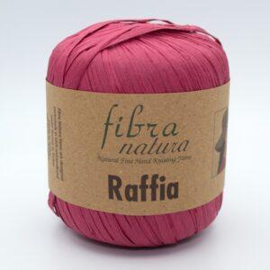Пряжа Fibranatura Raffia 116-06 малиновый