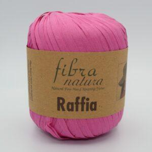 Пряжа Fibranatura Raffia 116-07 розовый