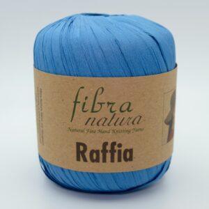 Пряжа Fibranatura Raffia 116-10 сине-голубой