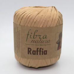 Пряжа Fibranatura Raffia 116-14 бежевый