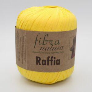 Пряжа Fibranatura Raffia 116-18 желтый
