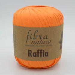Пряжа Fibranatura Raffia 116-19 оранжевый