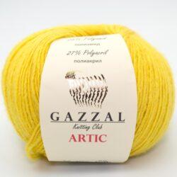 Пряжа Gazzal Artic 20 желтый