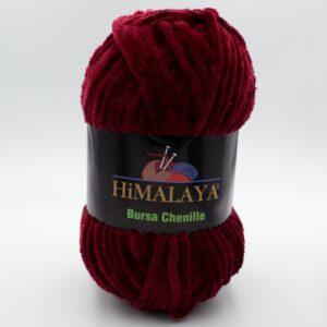 Пряжа плюшевая Himalaya Bursa Chenille бордо