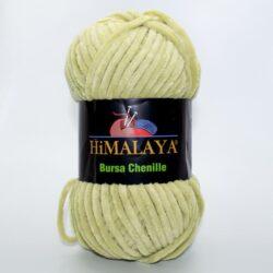 Пряжа плюшевая Himalaya Bursa Chenille светло-оливковый
