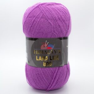 Пряжа Himalaya Lana Lux 800 74609 сиреневый