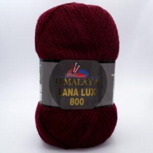 Пряжа Himalaya Lana Lux 800 74613 бордо