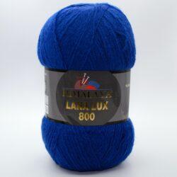 Пряжа Himalaya Lana Lux 800 74623 синий
