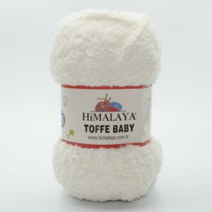 Пряжа плюшевая Himalaya Toffee Baby 78102 молочный
