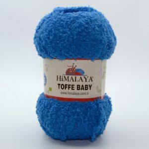 Пряжа плюшевая Himalaya Toffee Baby 78123 сине-голубой