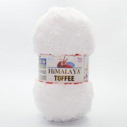 Пряжа плюшевая Himalaya Toffee 73501 белый
