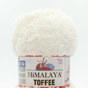 Пряжа плюшевая Himalaya Toffee 73502 молочный