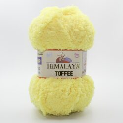 Пряжа плюшевая Himalaya Toffee 73504 желтый