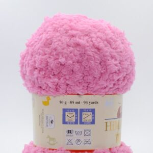 Пряжа плюшевая Himalaya Toffee 73506 розовый
