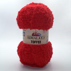 Пряжа плюшевая Himalaya Toffee 73508 красный