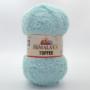 Пряжа плюшевая Himalaya Toffee 73511 нежная бирюза