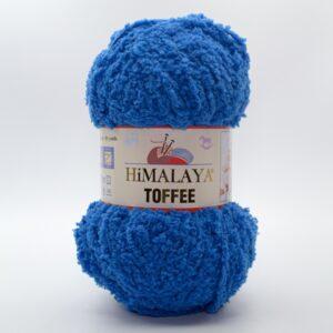 Пряжа плюшевая Himalaya Toffee 73514 сине-голубой