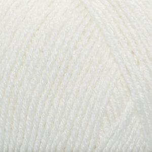 Пряжа Madame Tricote Cashmere Gold 100 белый