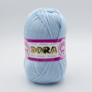 Пряжа Madame Tricote Dora 011 нежно-голубой