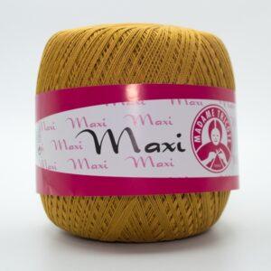 Пряжа Madame Tricote Maxi 6340 горчичный