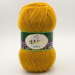 Пряжа Nako Astra 10129 горчичный