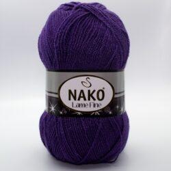 Пряжа Nako Lame Fine 10445 фиолетовый