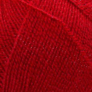 Пряжа Nako Lame Fine 251 красный