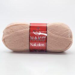 Пряжа Nako Nakolen 10390 персиково-бежевый