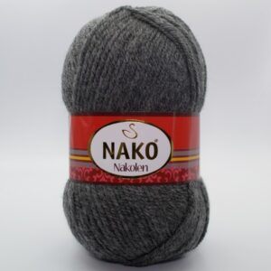 Пряжа Nako Nakolen темно-серый 193
