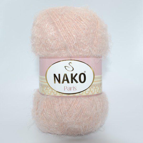 Пряжа Nako Paris 10390 персиково-бежевый