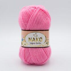 Пряжа Nako Super Bebe 4430 розовый