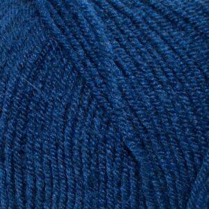 Пряжа Nako Super inci 517 темный синий