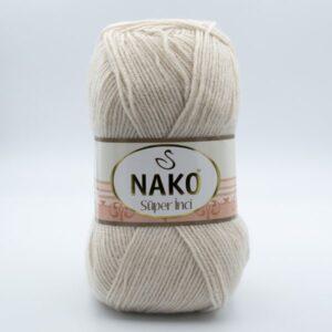 Пряжа Nako Super inci 6383 бежевый