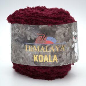 Пряжа плюшевая Himalaya Koala 75703 бордо