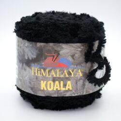 Пряжа плюшевая Himalaya Koala 75709 черный