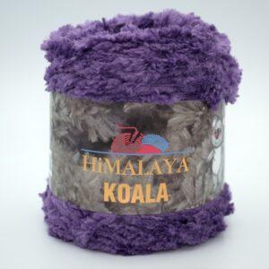 Пряжа плюшевая Himalaya Koala 75717 фиолетовый