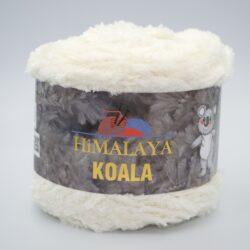 Пряжа плюшевая Himalaya Koala 75724 молочный