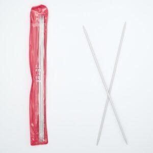 Спицы для вязания носочные 2.5 мм 20 см алюминий
