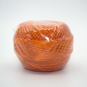 Пряжа Madame Tricote Maya 244 темно-оранжевый