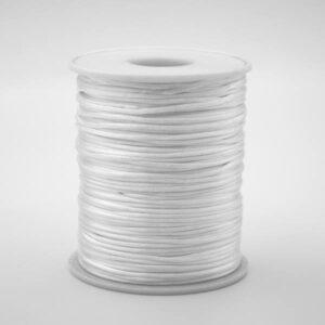 Шнур атласный 2 мм белый