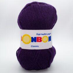 Пряжа Nako Bonbon Classic 98232 темно-фиолетовый